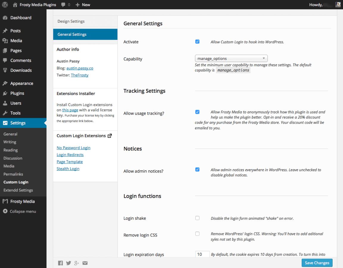 custom-login screenshot 3