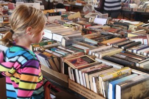 Sort books for an hour on April 11-16