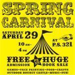 Spring Carnival: THIS SATURDAY!