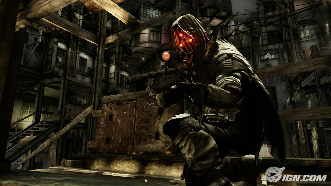 Killzone Shadow Fall Mobile Wallpaper Helghast Sniper Skins Mapping And Modding Java