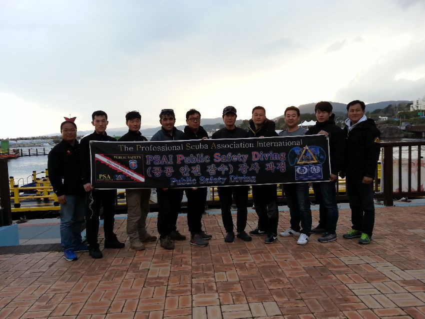 PSAI Korea Conducts PSAI Public Safety Diving Course for the ROK