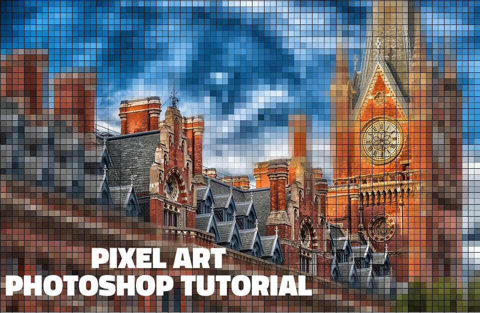 Filter Photoshop Pixel Photo Effect In Photoshop With Mosaic Filter