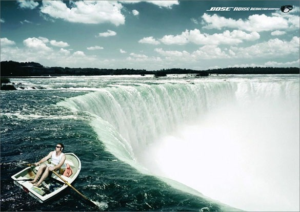 Waterfall Funny Print Ads Crazy but Creative