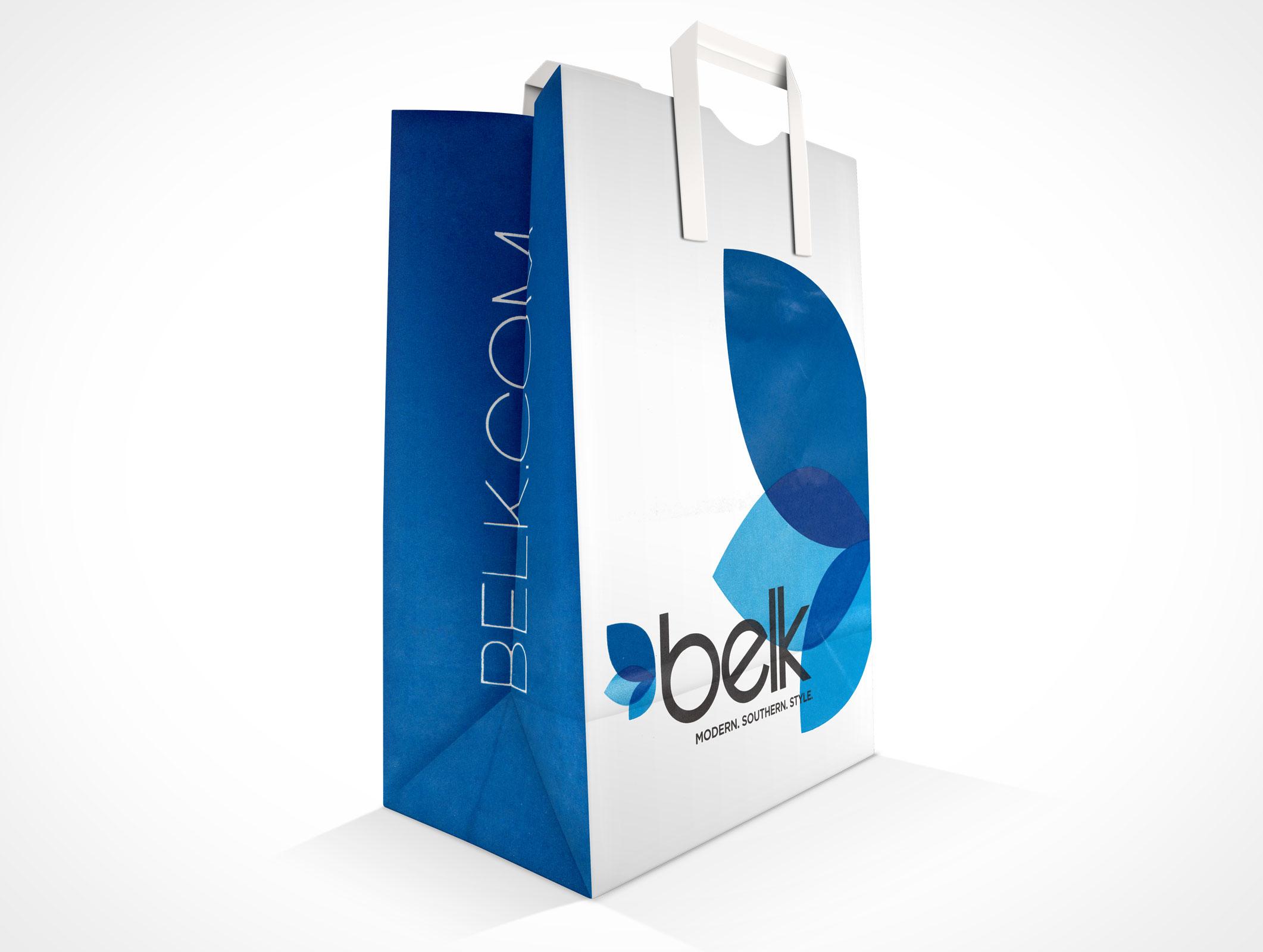 PAPERBAG001  Market Your PSD Mockups for paper bag