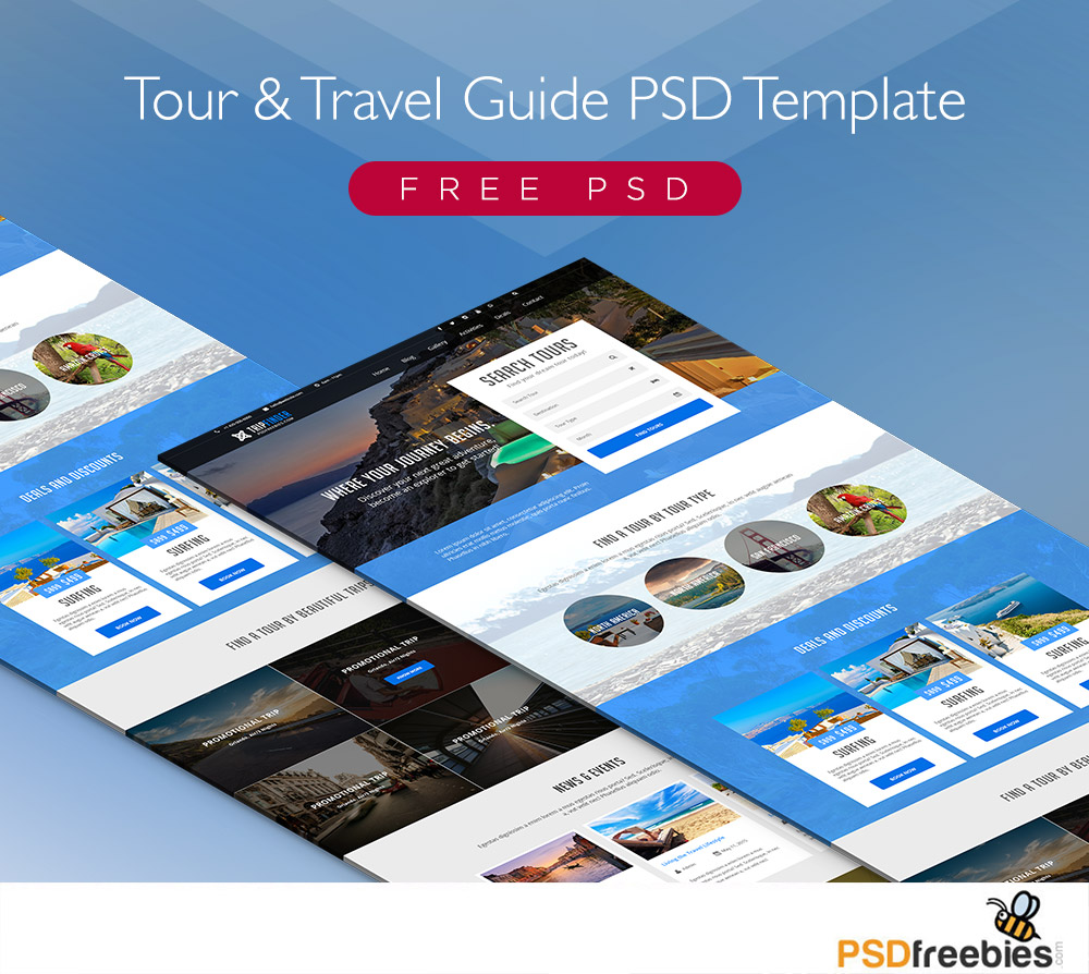 How To Represent Travel On Your Rsum Nomadic Matts Free Tour And Travel Guide Psd Template Psdfreebies