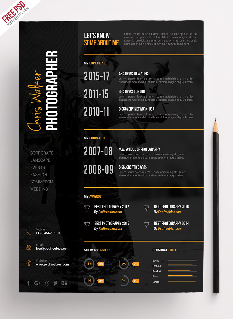 it professional resume template download