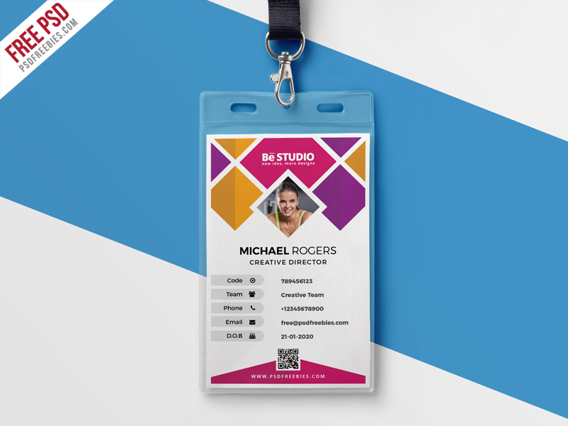 Creative Office Identity Card PSD \u2013 PSDFreebies