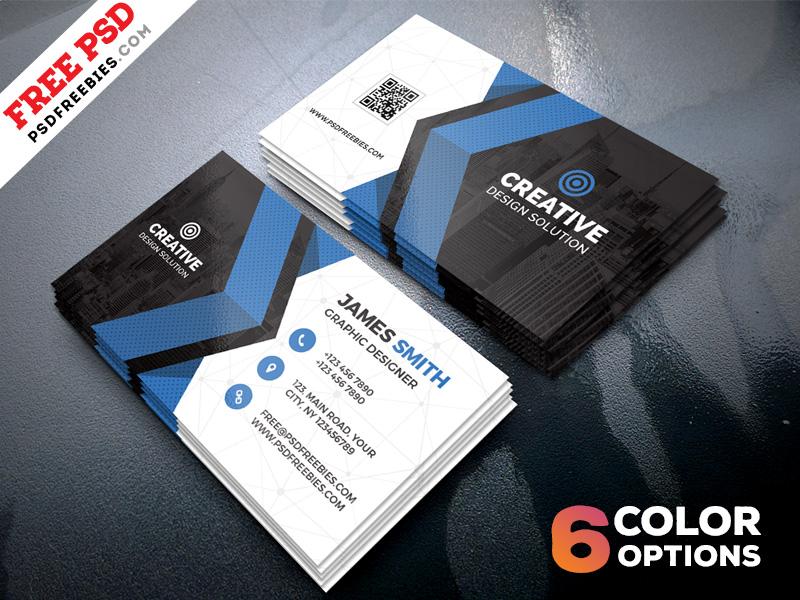 Free Business Cards Templates PSD Bundle PSDFreebies