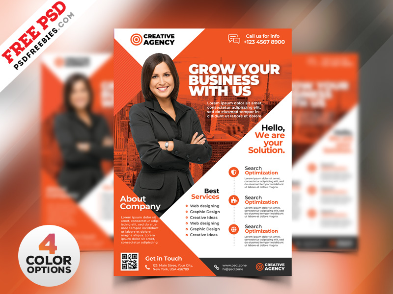 Business Flyer Design Templates PSD PSDFreebies