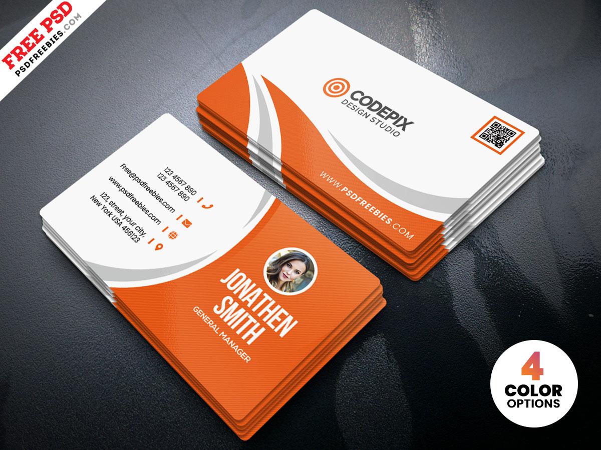 free card cv psd