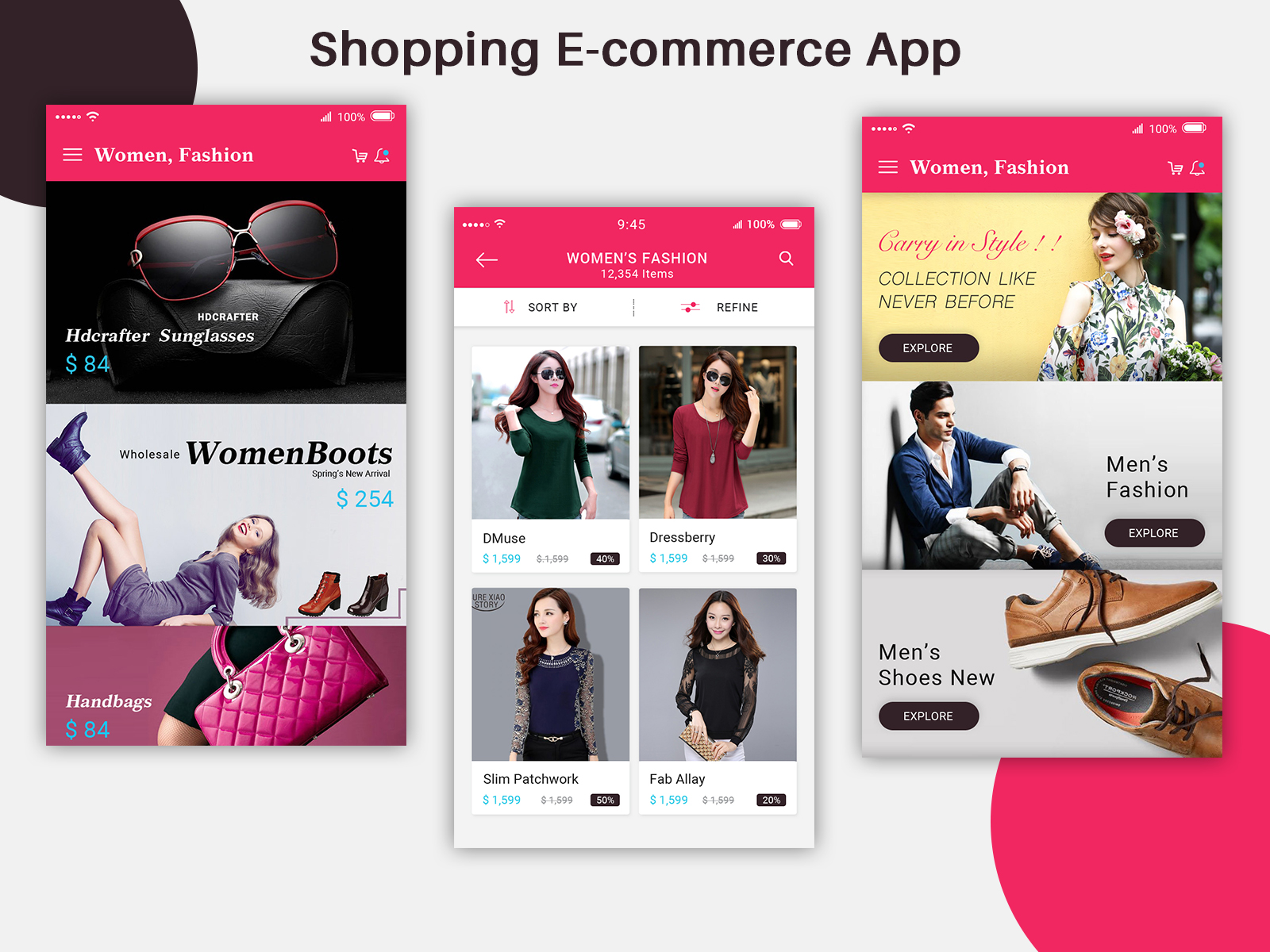 E Commerce Mobili E Commerce Mobile App Ui Design Psd Free Download