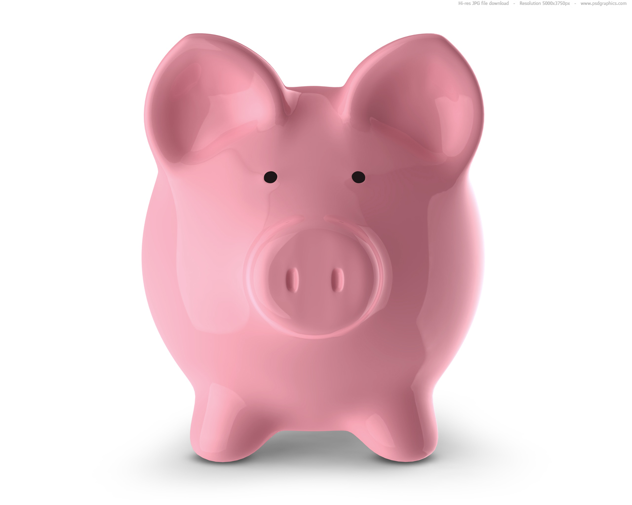 Where To Find Piggy Banks Pink Piggy Bank Psdgraphics