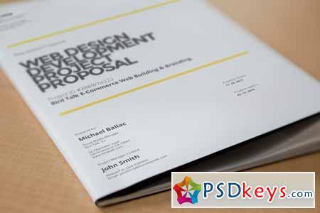 Web Design Proposal 49860 » Free Download Photoshop Vector Stock - design proposal