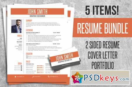 Modern Resume Psdkeys Free Resume Template Indesign Templates