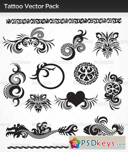 Tattoo Vectors » Free Download Photoshop Vector Stock image Via