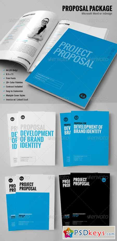 30+ Page Proposal Template - w Contract  Invoice 459724 » Free
