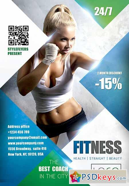 free fitness flyer template - Ozilalmanoof