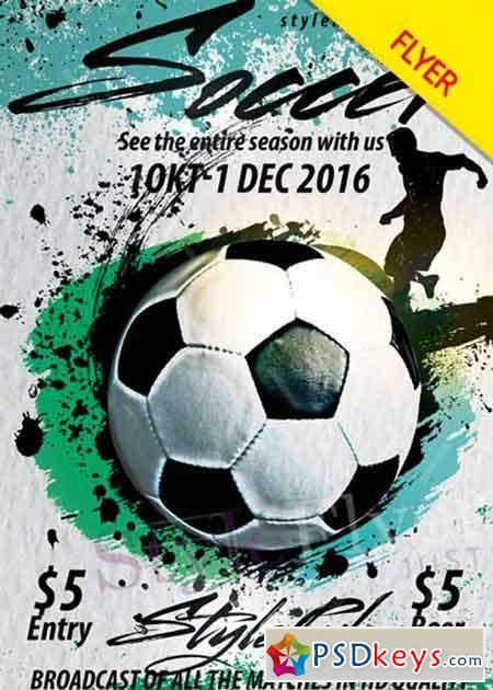 soccer flyer - Jolivibramusic