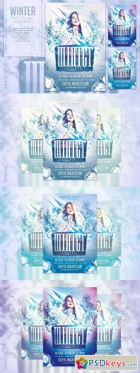 Winter Cold Sensation Flyer Template 1259505 » Free Download