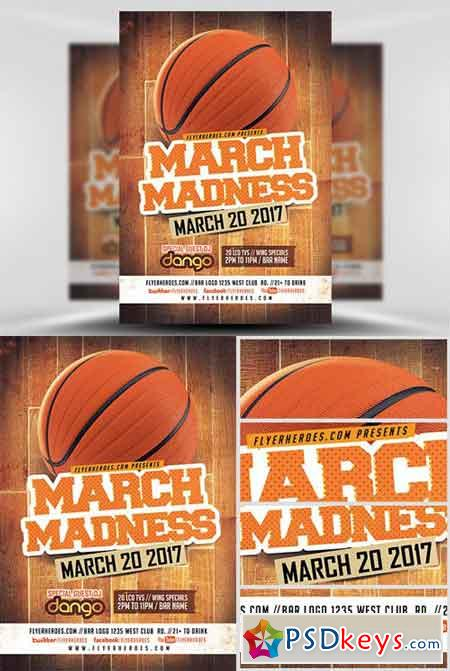 BasketBall » page 3 » Free Download Photoshop Vector Stock image - basketball flyer example