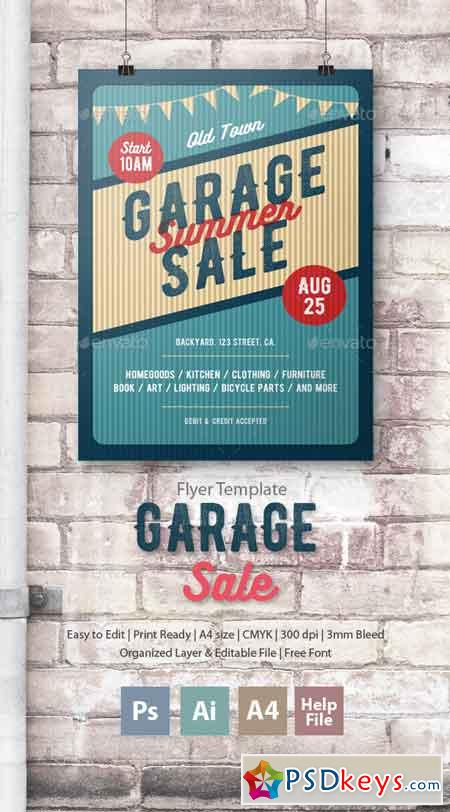garage sale template