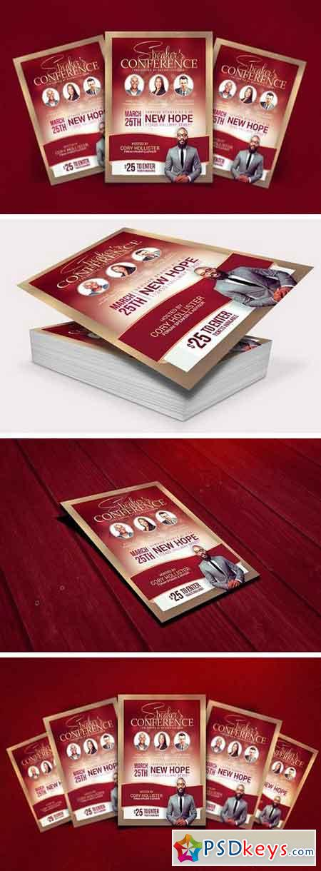 Conference Flyer Template Gallery - Template Design Ideas