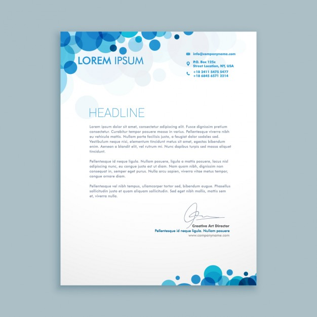 30+ Best Free Letterhead Design Mockup Vector and PSD Templates