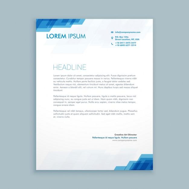 image entete de lettre gratuit lettre de presentation