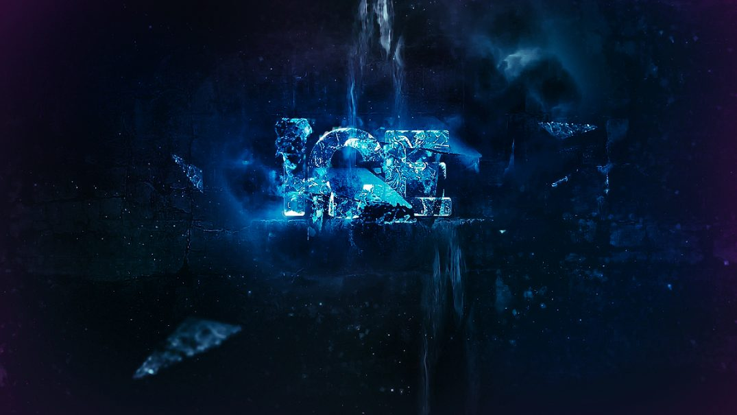 Lighting Effects Photoshop Cs6 Create Chilling Ice Text Effect In Photoshop - Psd Vault