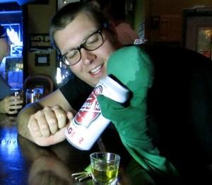 """Still from """"Ben & Eric Go Drinking"""""""