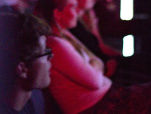 Portsmouth Short Film Night audience watching a film