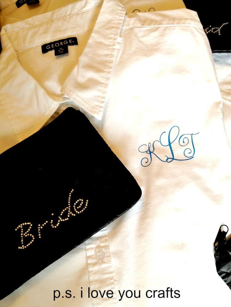 monogrammed white button down shirts