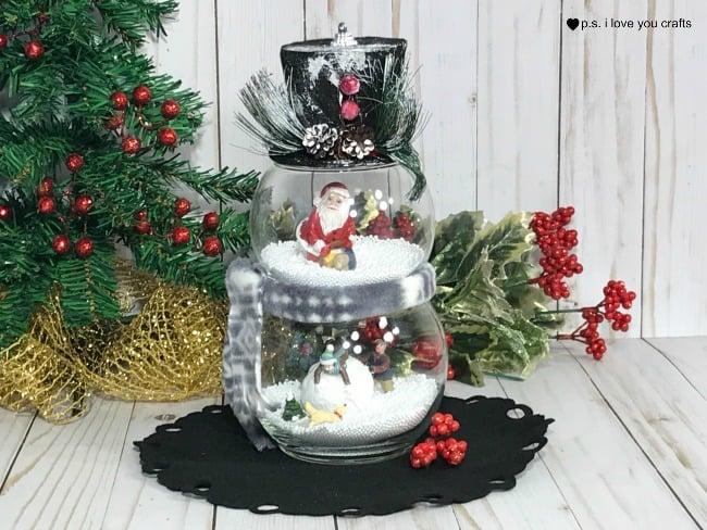 DIY Dollar Tree Christmas Decorations - PS I Love You Crafts - dollar general christmas decorations