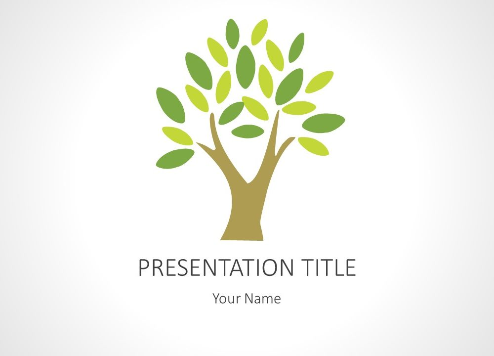 Tree PowerPoint Background