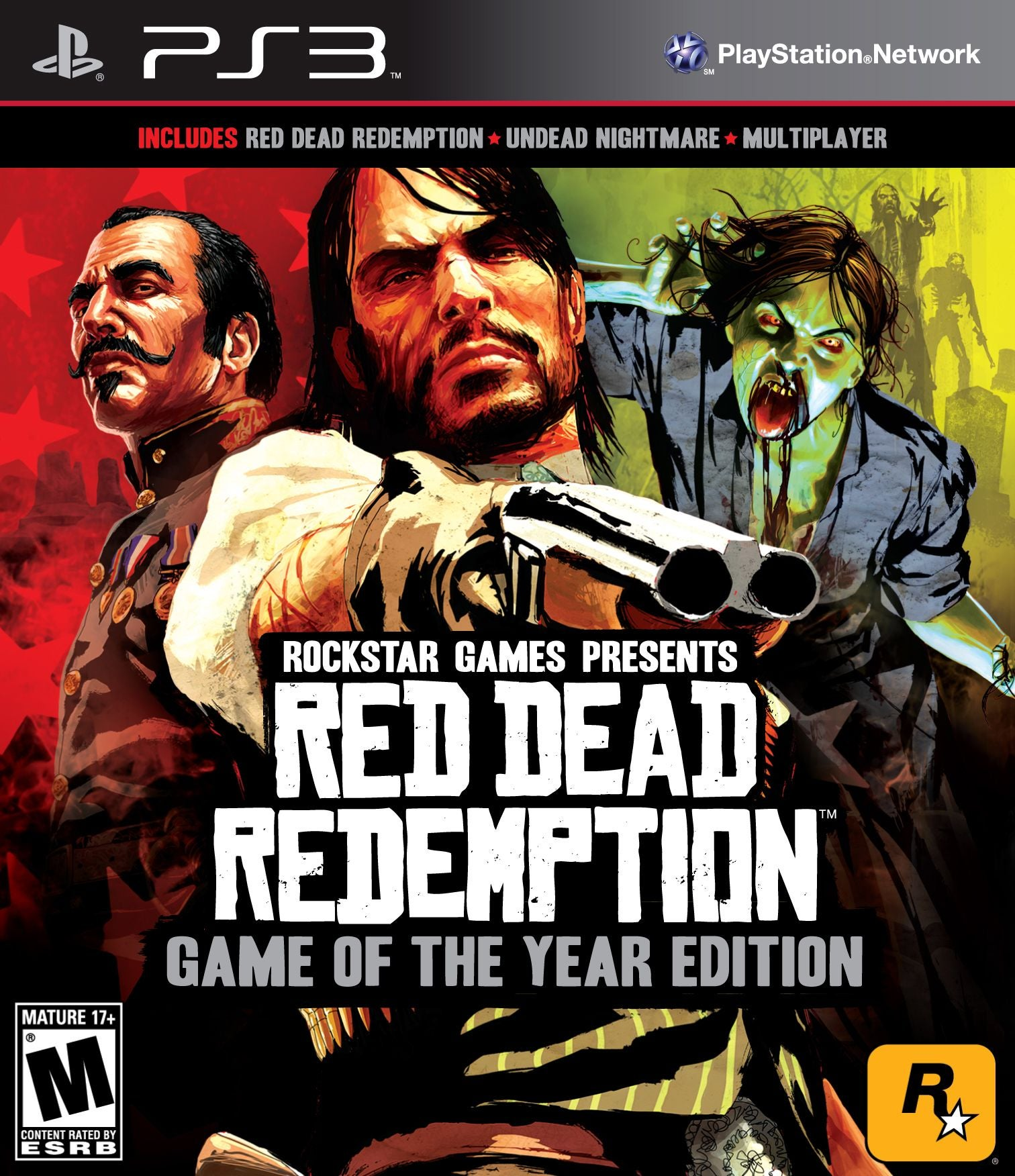 Edition For Ps3 Red Dead Redemption Game Of The Year Edition Ign