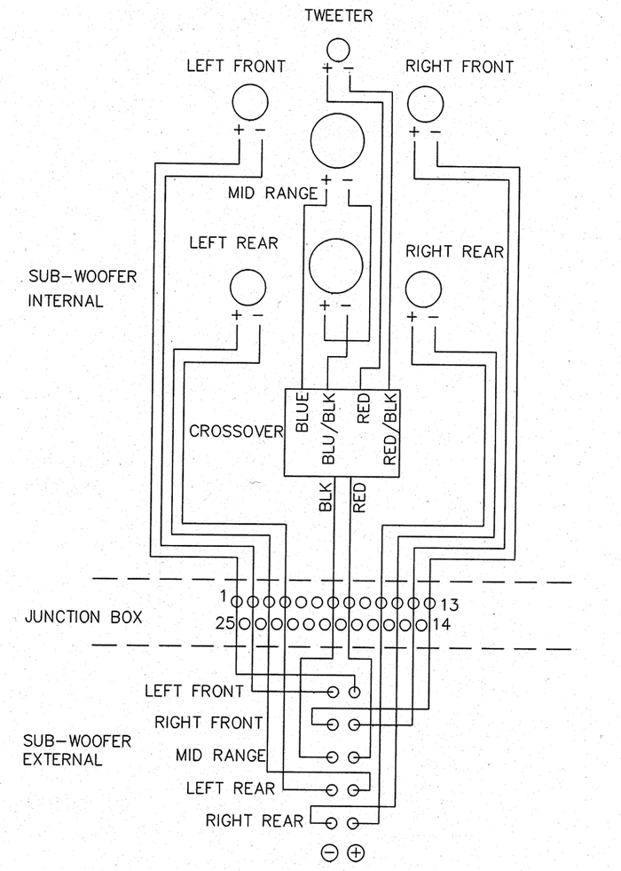 logitech z 5500 schematic diagram
