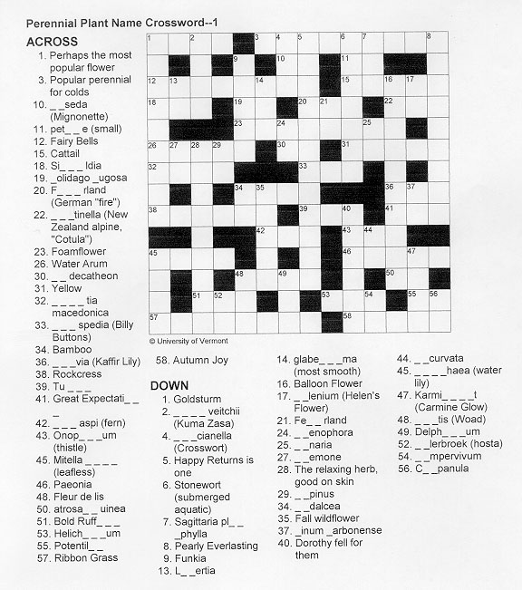 easy printable crossword searches