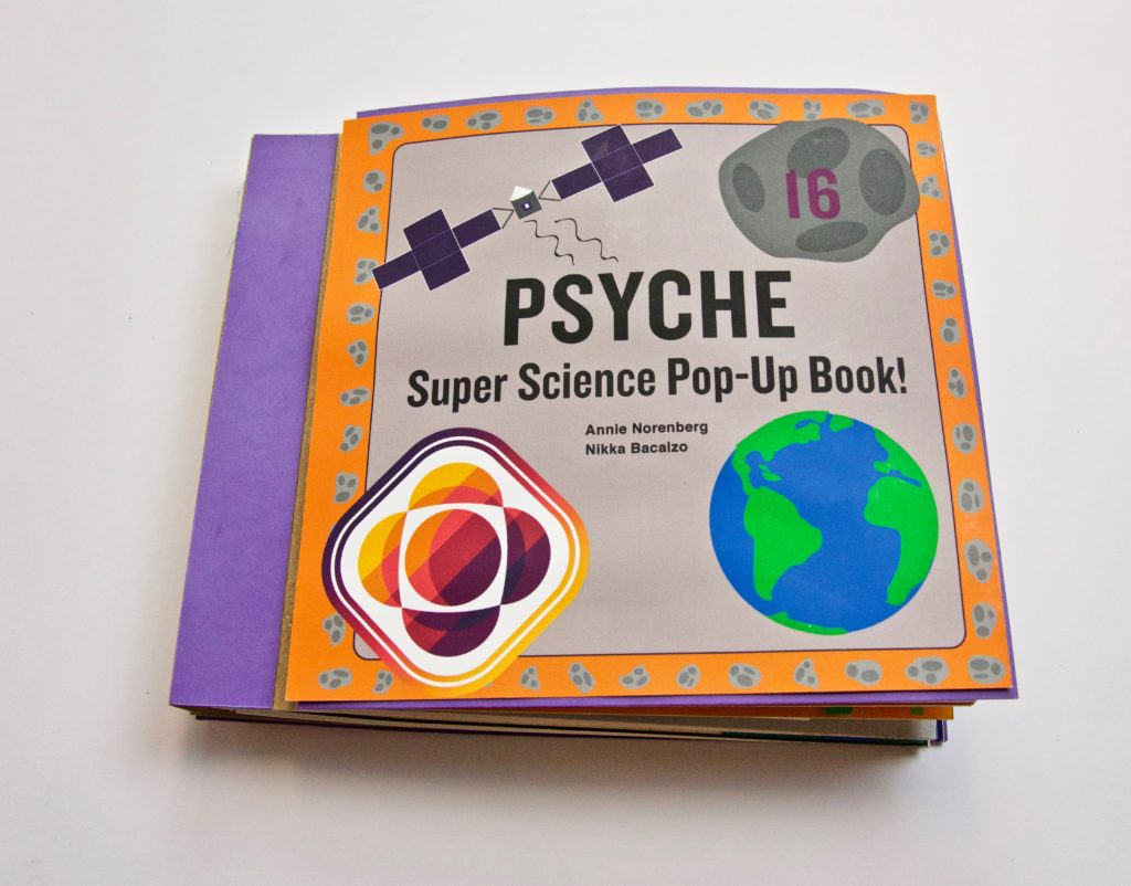 Pop Up Book Cover Pop Up Book Cover Psyche Mission