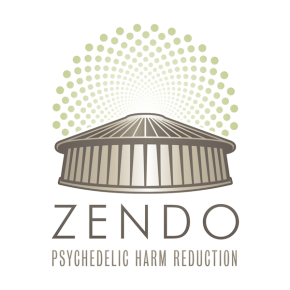 Zendo Logo - Psychedelic Harm Reduction