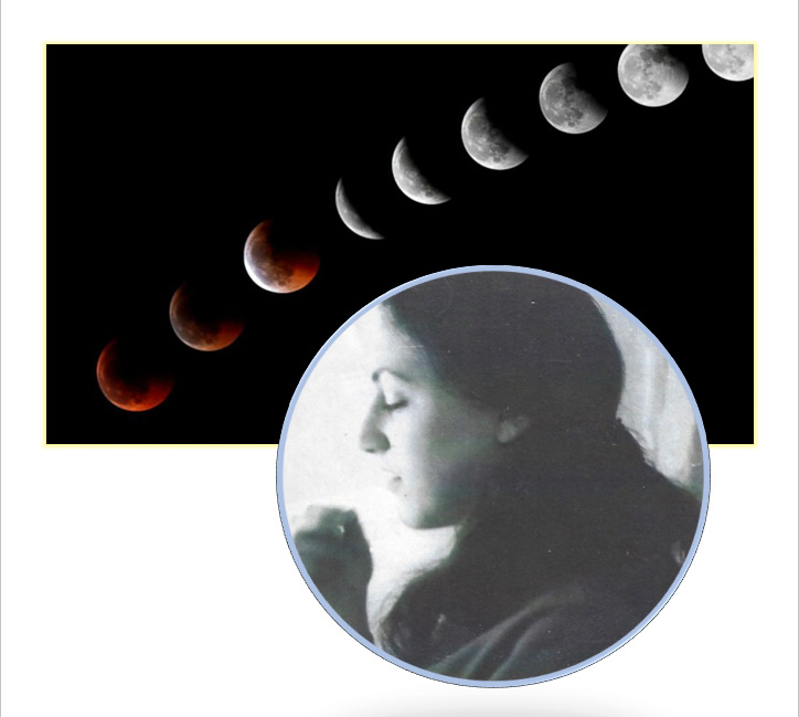 Claudia Miriam Reed and lunar eclipse