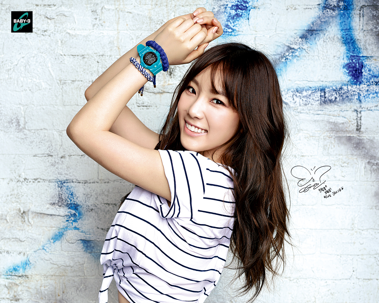 Girls Generation Tiffany Wallpaper 100314 Girls Generation Snsd New Picture For Casio