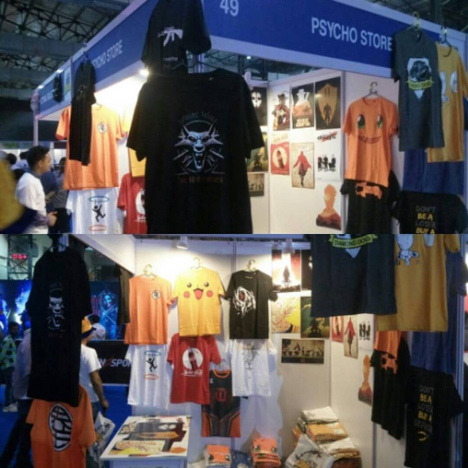 psycho store at comic con mumbai