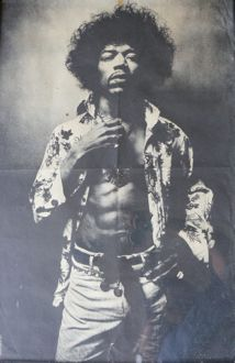 Jimi Hendrix Osiris poster