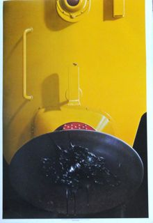 Michael English poster Yellow Diesel Black Grease
