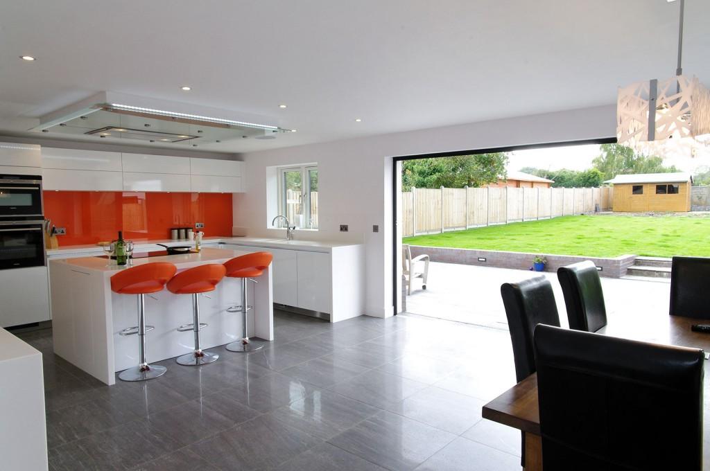 view project galleries fitted kitchen installations eat kitchen designs orange gloss kitchen designs contemporary