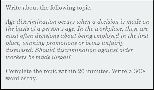 age discrimination essay combat age discrimination resume tips