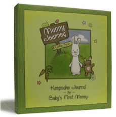 Munny Journey Baby Keepsake Journal