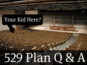 College Lecture Hall 529 Plan Questions