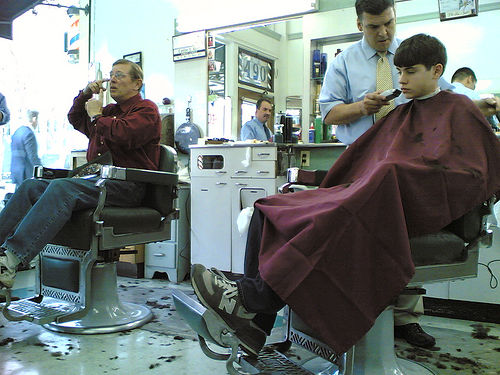 Negotiating with the Barber