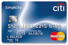 Citi Simplicity® MasterCard